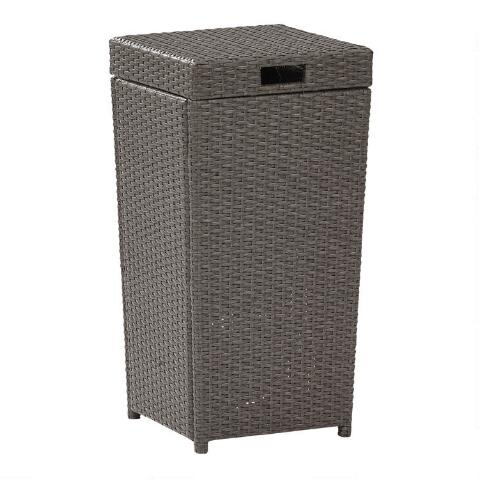 Gray All Weather Wicker Pinamar Outdoor