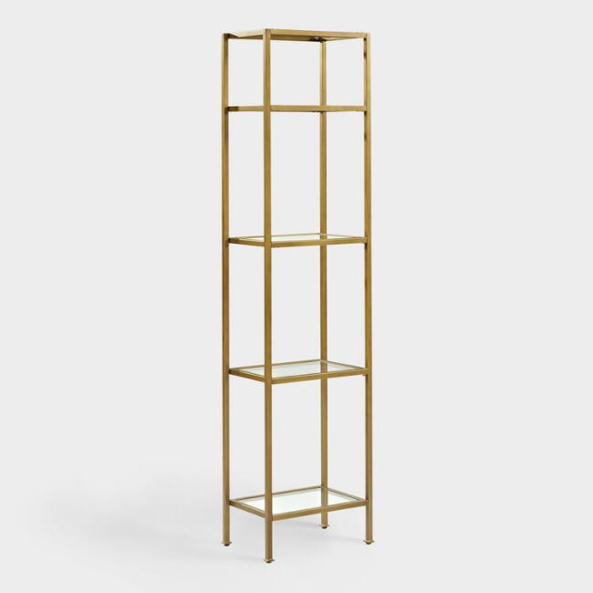 Gold Milayan Etagere Shelf
