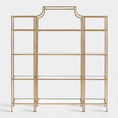 Gold Milayan Living Furniture Collection