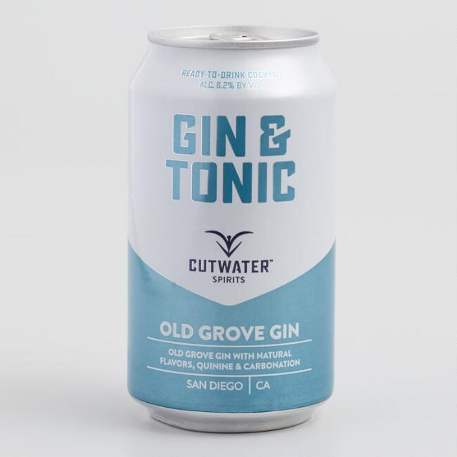 Cutwater Gin and Tonic Cocktail