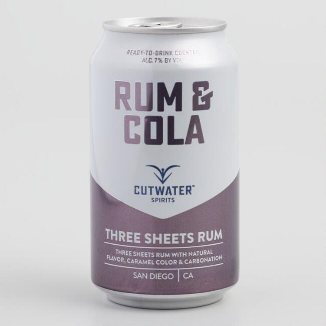 Cutwater Rum and Cola Cocktail
