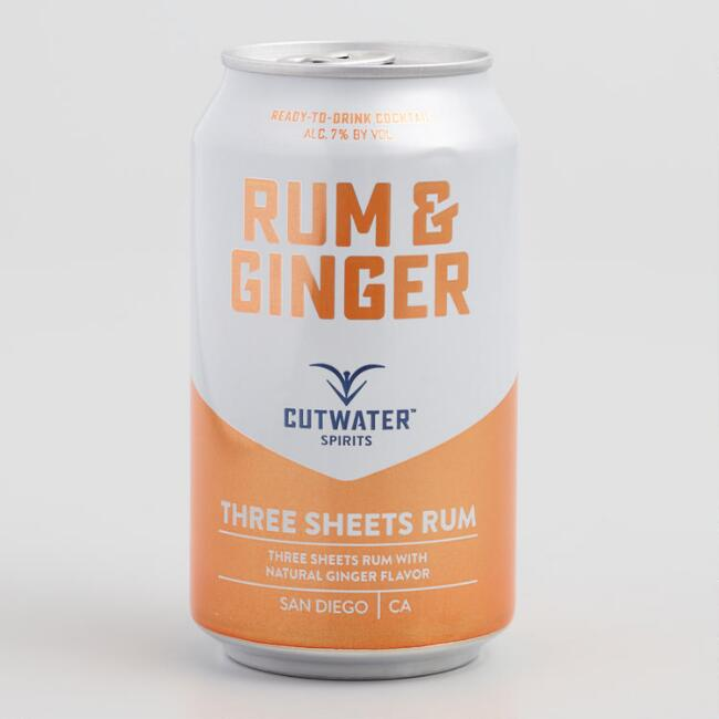 Cutwater Rum and Ginger Cocktail