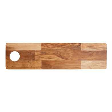 Large Acacia Wood Charcuterie and Cheese Serving Board