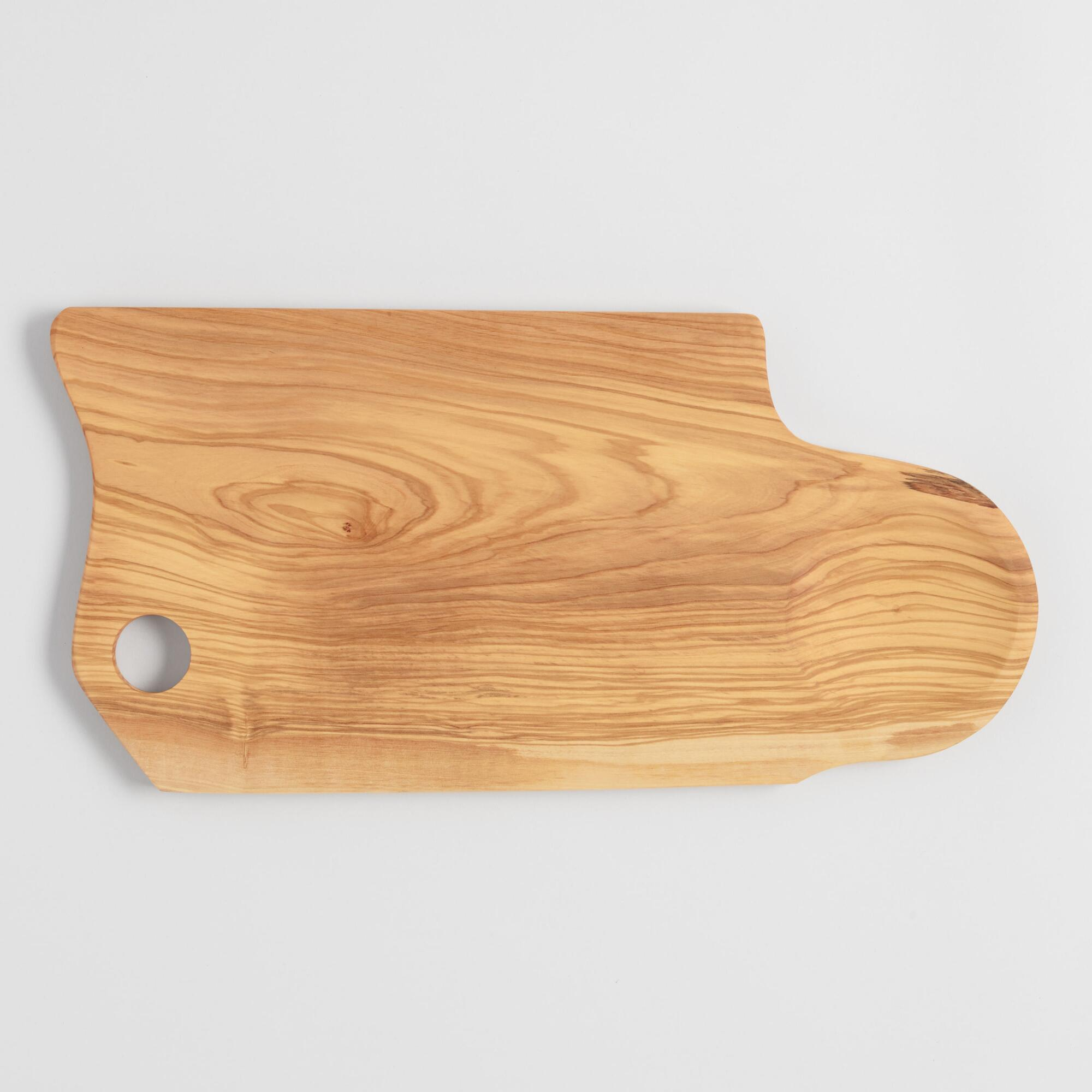 Extra Large Olive Wood Charcuterie and Cheese Serving Board by World Market