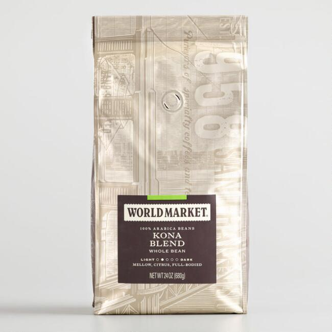 24 Oz. World Market® Kona Blend Whole Bean Coffee Set Of 3
