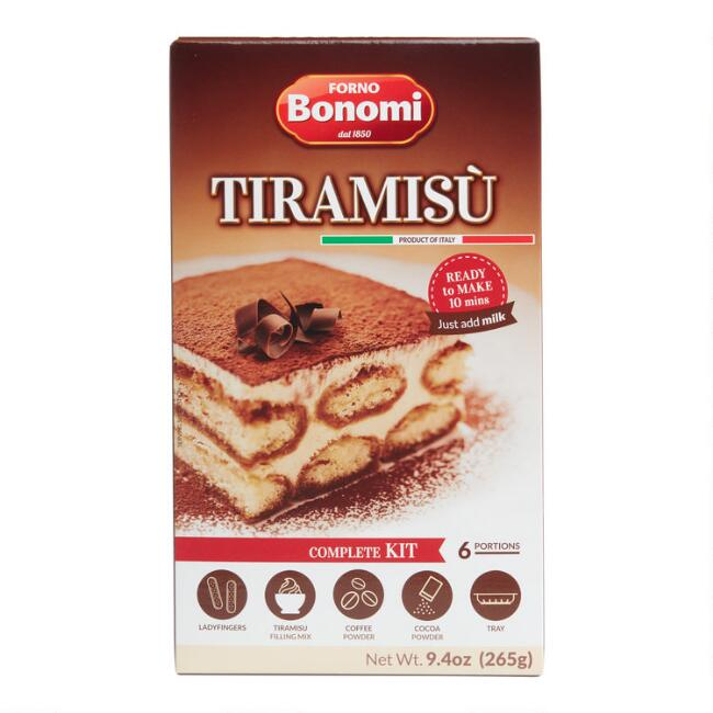 Forno Bonomi Tiramisu Dessert Kit Set of 2