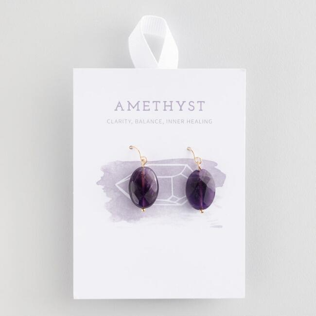 for women amethyst store earrings agate chakra colorful healing drop beads product yoga girls stone reiki