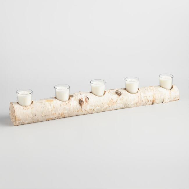 Birch Branch Votive Centerpiece Candleholder