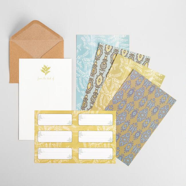 Yellowstone Stationery Letter Set