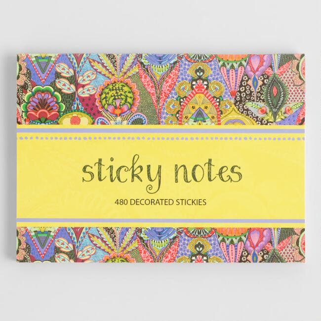 Multicolored Global Mod Sticky Notes