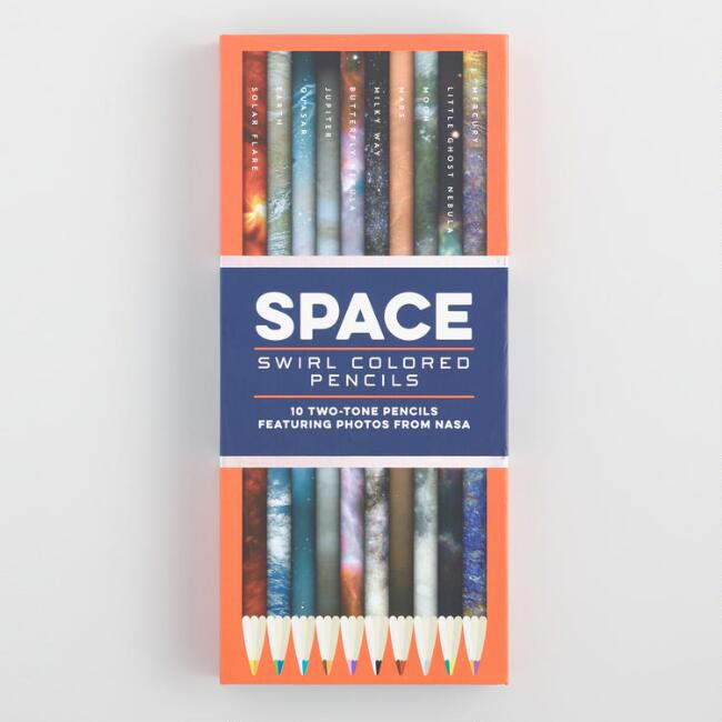 Celestial Two Tone Colored Pencils Set of 10