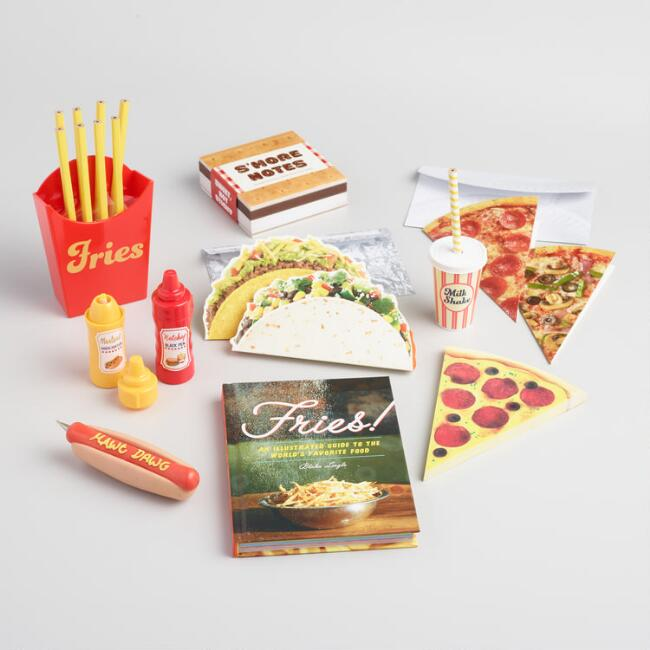 Junk Food Stationery Collection