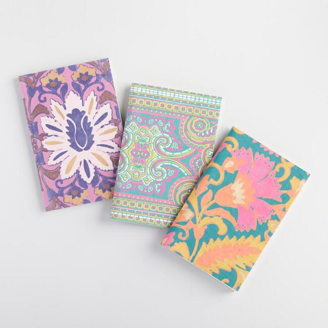 Mini Zuri Handmade Journals Set of 3