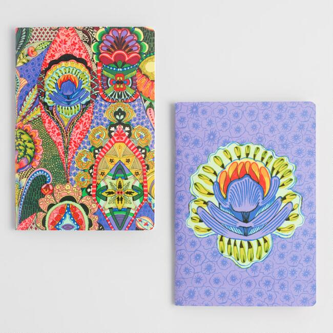 Multicolored Global Mod Journals Set of 2