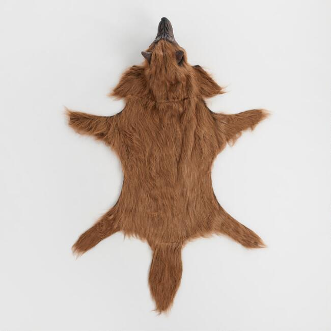 Howling Wolf Rug Decor