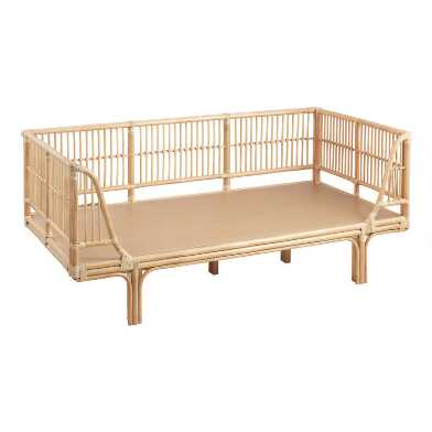 Honey Rattan Daybed Frame