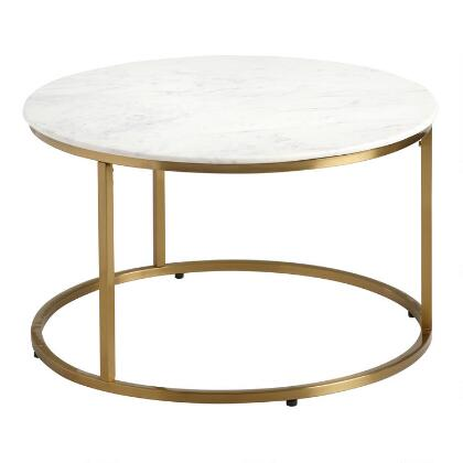 Wondrous Silver Hammered Metal Cala Coffee Table World Market Cjindustries Chair Design For Home Cjindustriesco