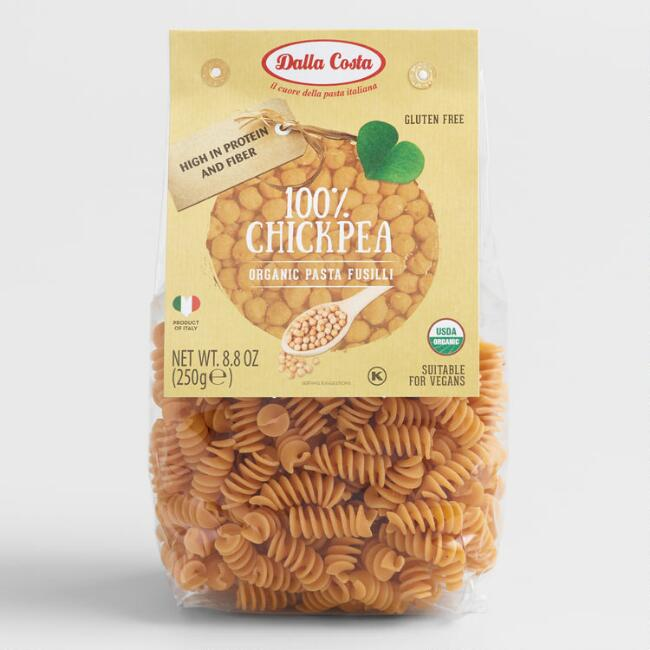 Dalla Costa Fusilli Chickpea Pasta Set of 4