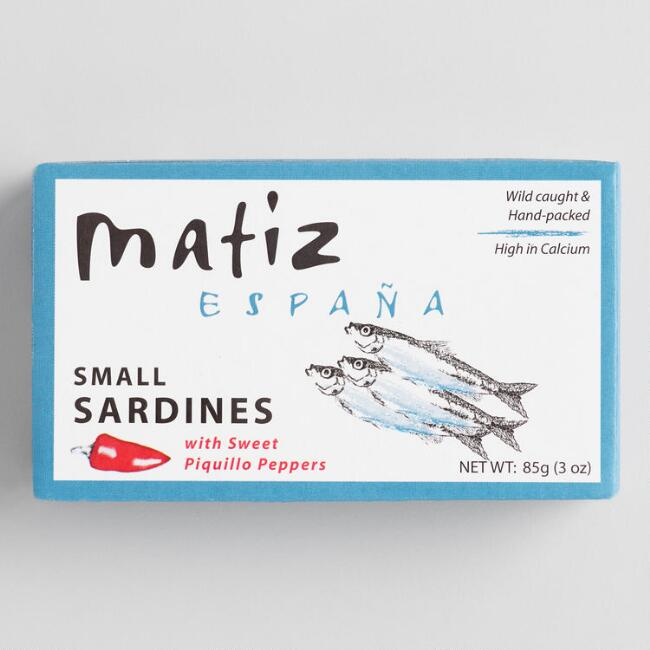 Matiz Gallego Sardines with Piquillo Peppers Set of 4