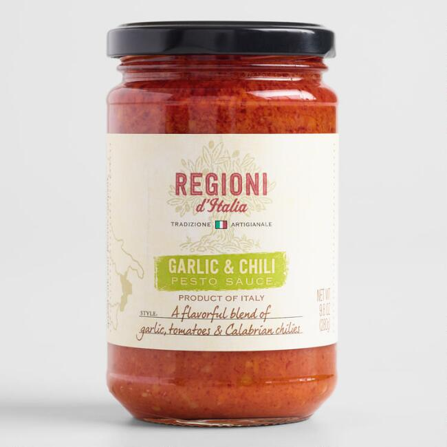 Regioni d'Italia Garlic Tomato and Chili Sauce Set of 2