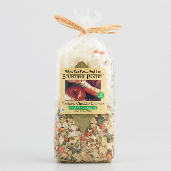 Bountiful Pantry Vegetable Cheddar Chowder Soup Mix
