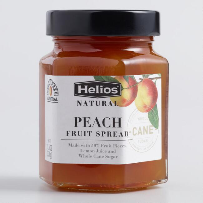 Helios Peach Fruit Spread