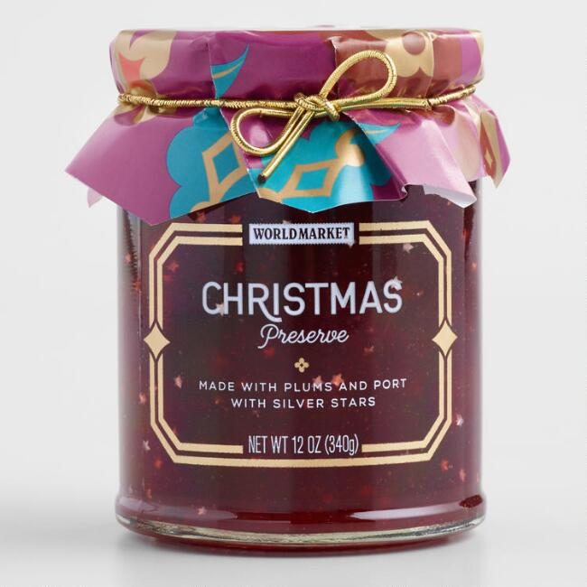 World Market® Christmas Preserves with Stars