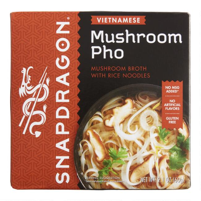 Snapdragon Mushroom Vietnamese Pho Soup Set of 6