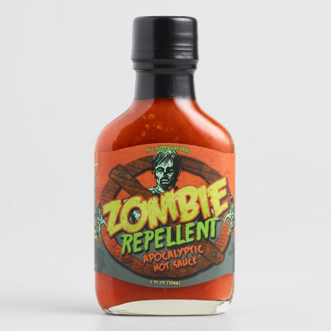 Zombie Repellent Apocalyptic Hot Sauce Set of 2