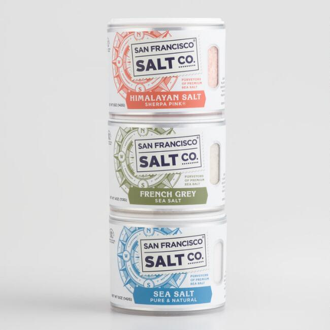 San Francisco Salt Co. 3 Pack