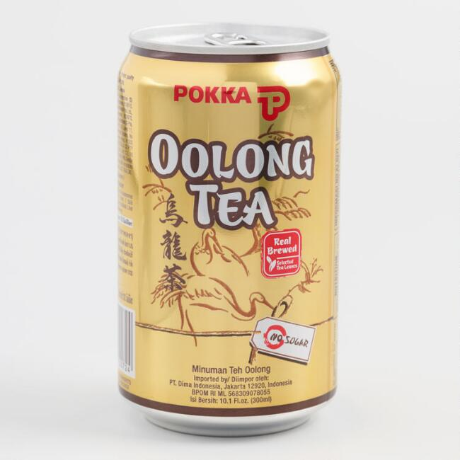 Pokka Oolong Tea Can