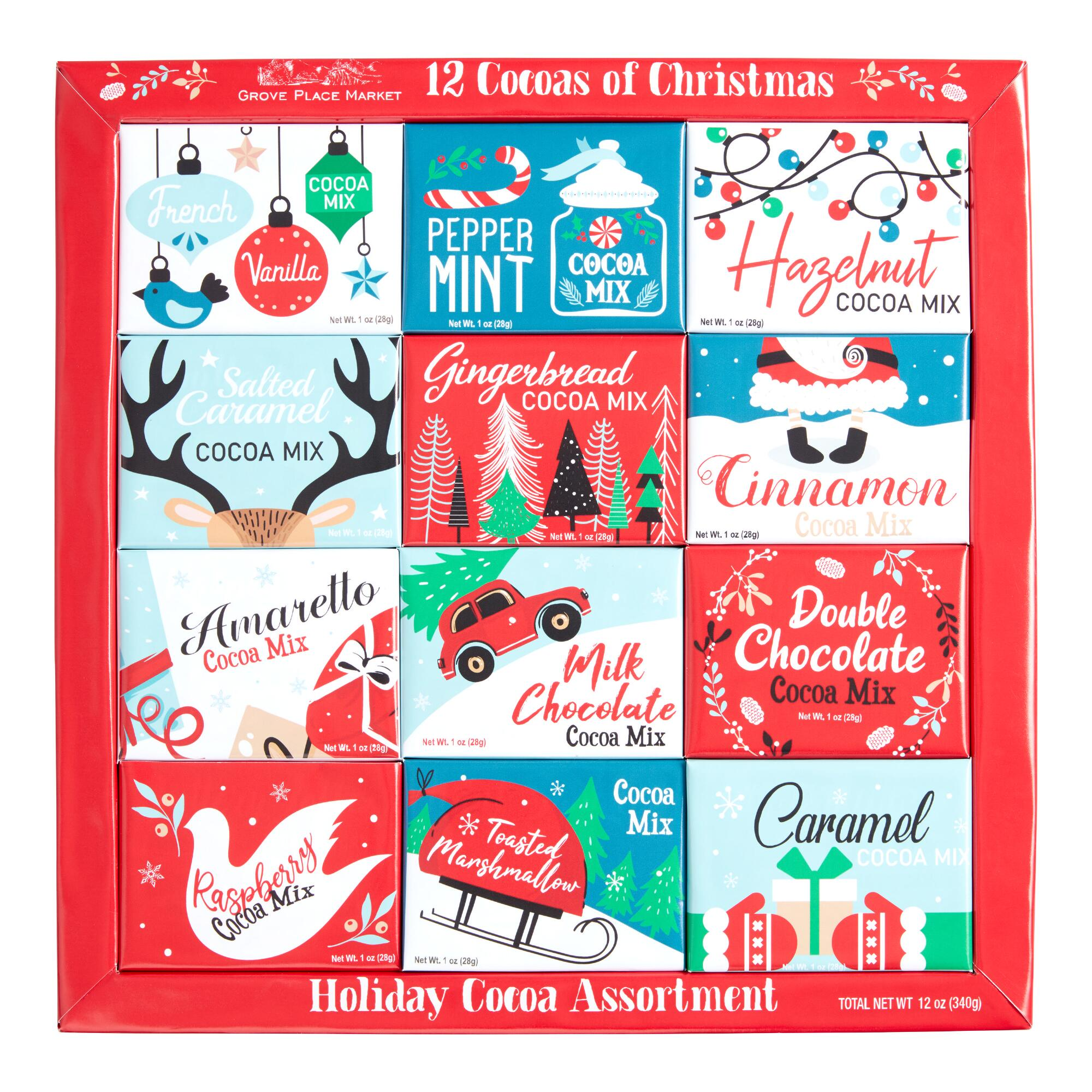12 Days of Christmas Hot Cocoa Mix 12 Count by World Market