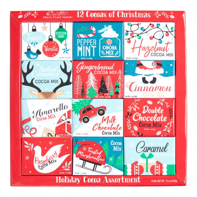 12 Days of Christmas Hot Cocoa Mix 12 Count