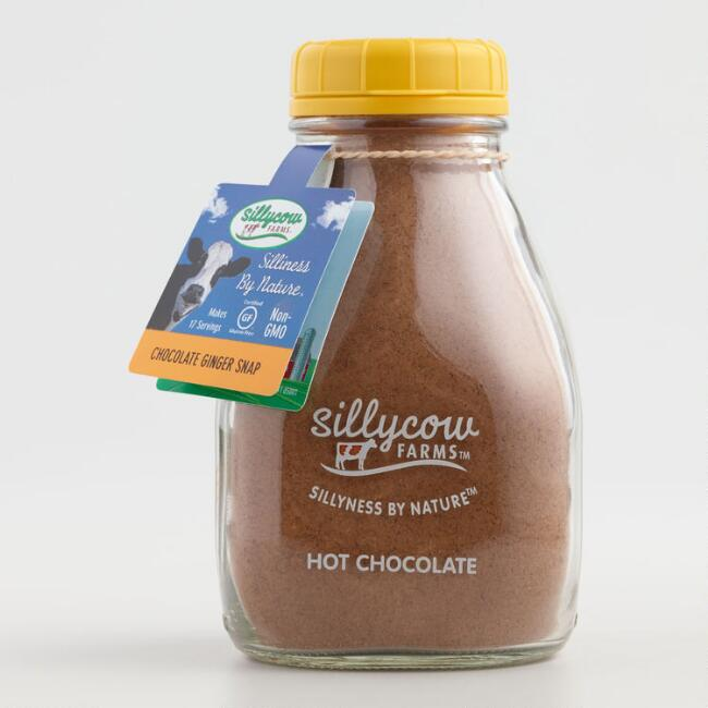 Sillycow Farms Chocolate Ginger Snap Hot Cocoa Mix