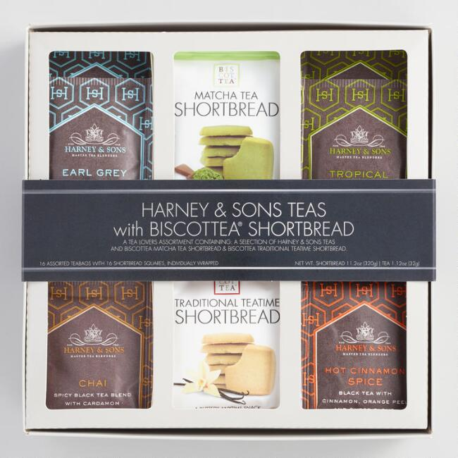 Harney & Sons Tea and Biscottea Gift Set