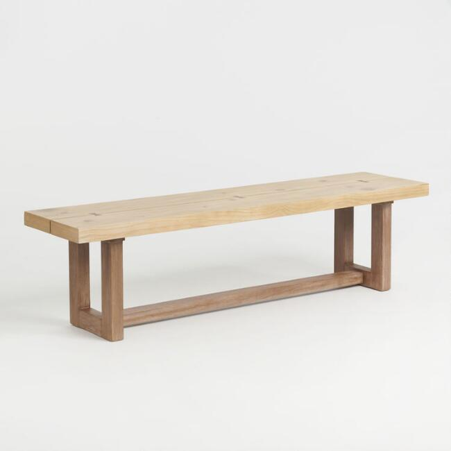 Two Tone Johan Dining Bench