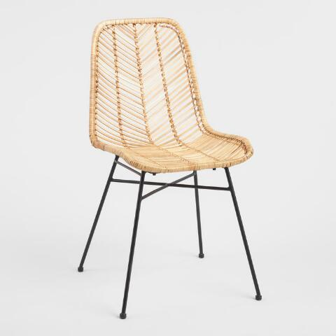 Natural Wicker Loren Chair Previous V7 V1
