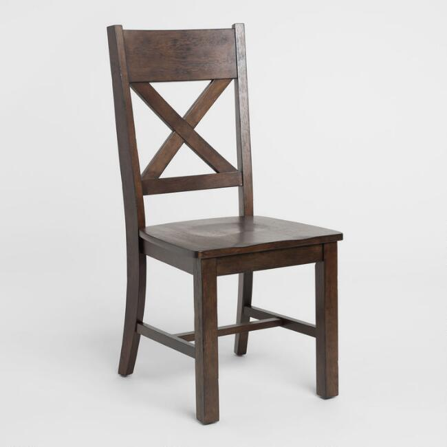 Rustic Brown Brooklynn Dining Chair Set of 2