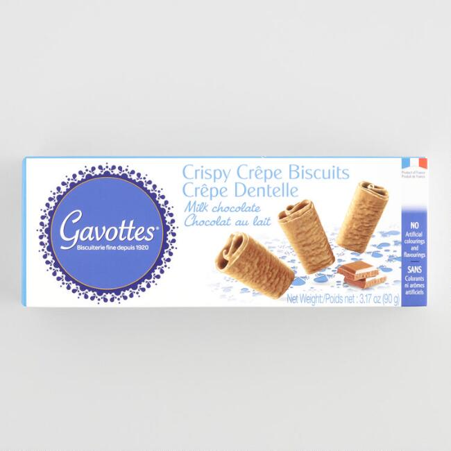 Gavottes Milk Chocolate Crispy Crepe Biscuits