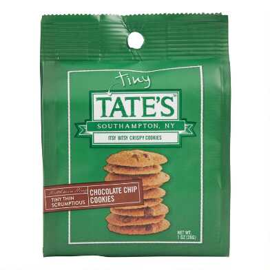 Tiny Tate's Bite Size Chocolate Chip Cookies 12 Count