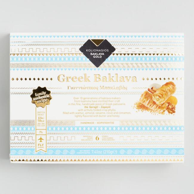 Kolionasios Greek Baklava 6 Count