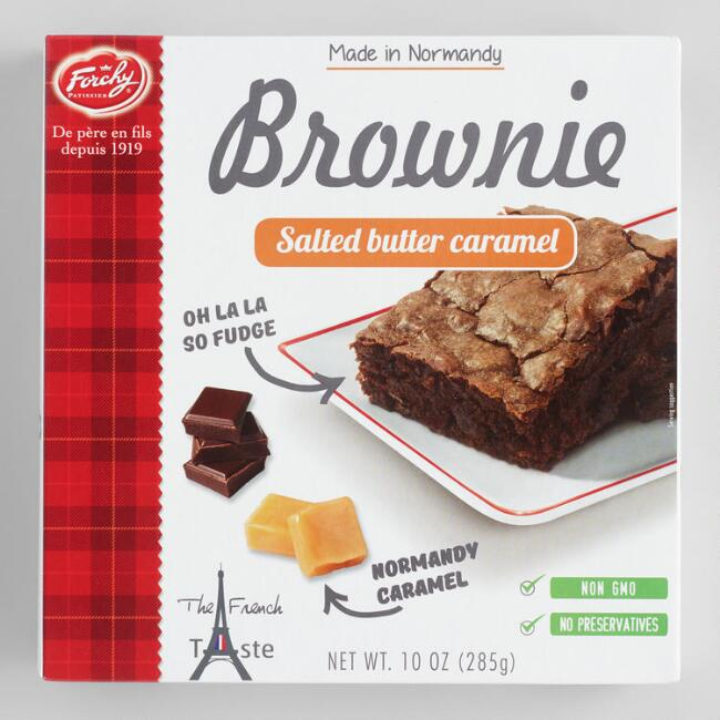 Forchy Salted Butter Caramel Brownies