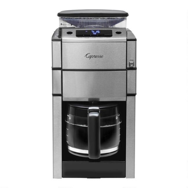 Capresso CoffeeTEAM PRO Plus Glass Coffee Maker