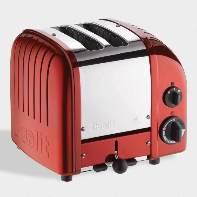 Candy Red Dualit New Generation Classic 2 Slice Toaster