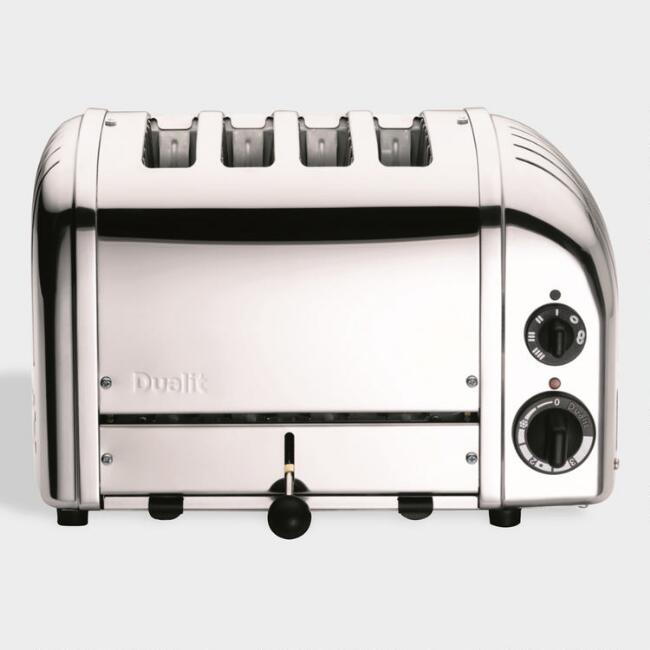 Chrome Dualit New Generation Classic 4 Slice Toaster