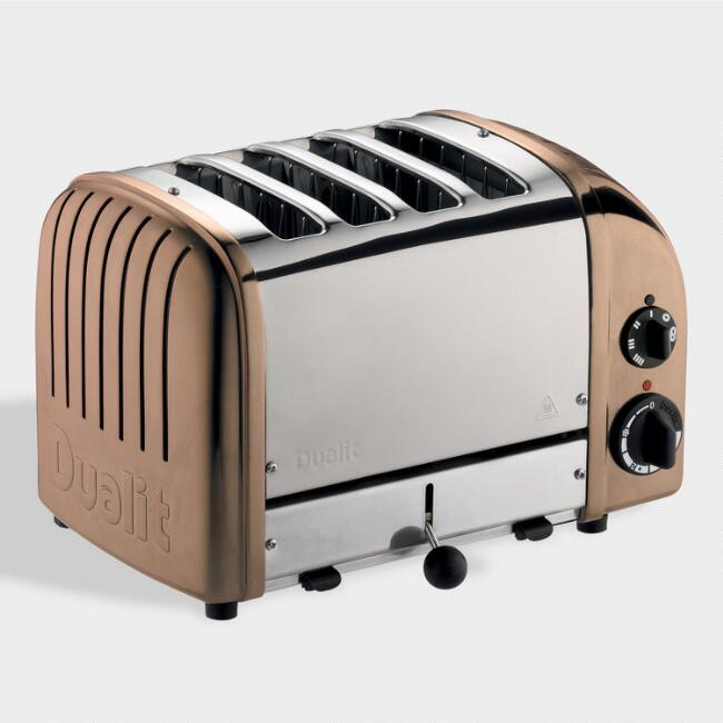 Copper Dualit New Generation Classic 4 Slice Toaster