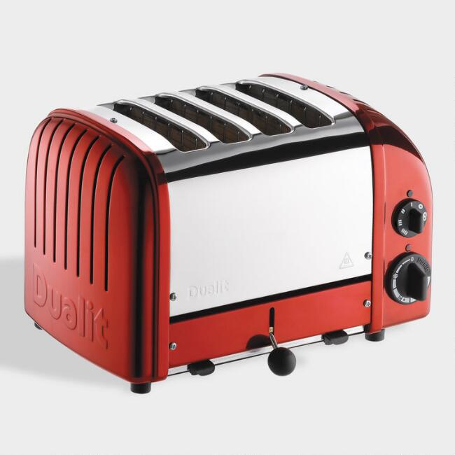 Candy Red Dualit New Generation Classic 4 Slice Toaster