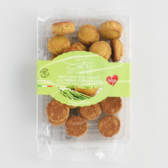 Satri Chive Biscuit Snack Crackers