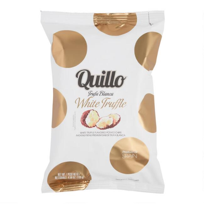 Quillo White Truffle Potato Chips