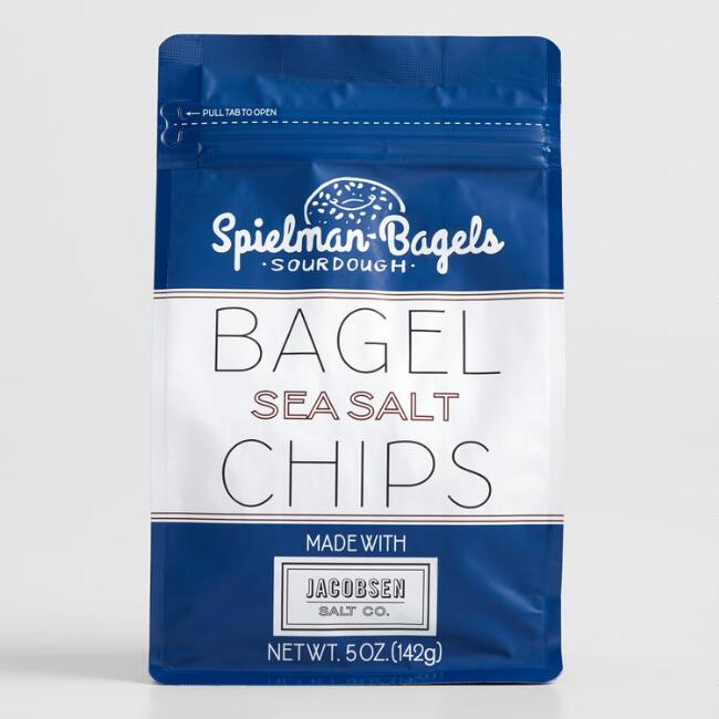 Spielman's Sea Salt Bagel Chips